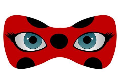 printable ladybug mask finally finished making the ladybug and cat noir logos