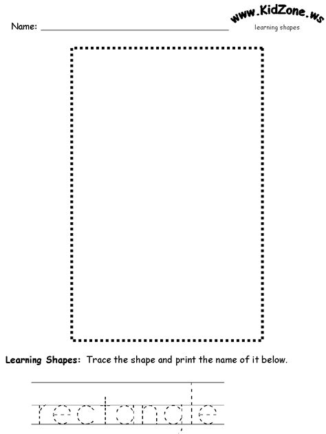 Rectangle Worksheet by Free Coloring Pages Of Shape Rectangle