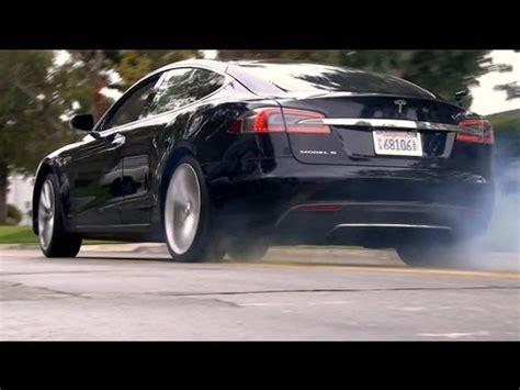 Tesla High Speed Tesla Model S P85 High Speed