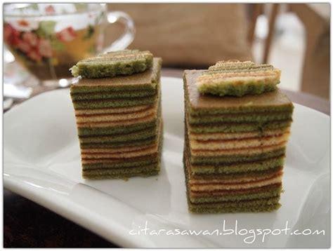 Teh Hijau Green Tea kek lapis teh hijau green tea layer cake kakwan