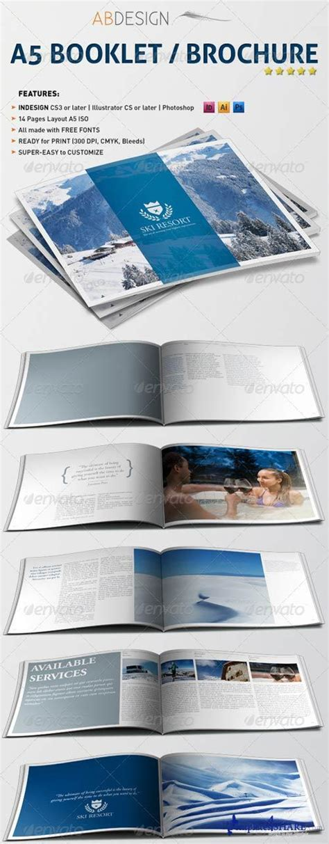 Graphicriver A5 Booklet Brochure 187 Templates4share Com Free Web Templates Themes And Graphic A5 Brochure Template Indesign