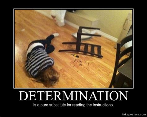 Best Reading Chair Ever Determination Demotivational Poster Fakeposters Com