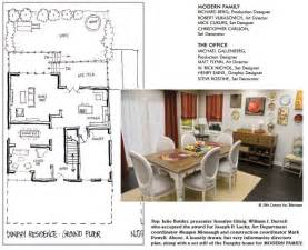 4 Bedroom House Blueprints Modern Family Dunphy Floorplan House Plans Pinterest