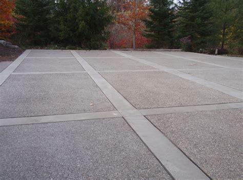 concrete driveway traditional or custom work buchheit construction