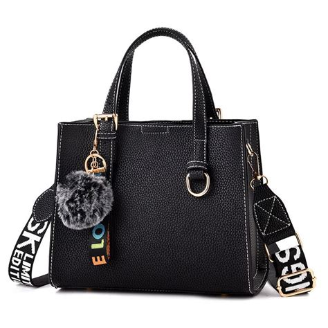 Bags & Handbag Trends : 2018 high quality pu leather hand bag woman brand trendy handbag