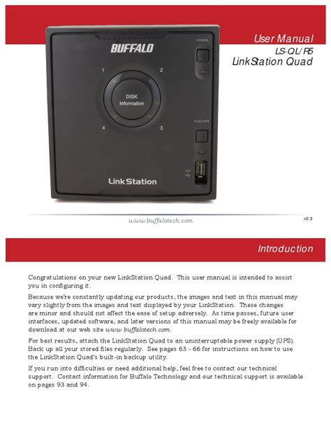 Linkstation Ls Qlr5 2tb buffalo link station ls ql r5 user manual
