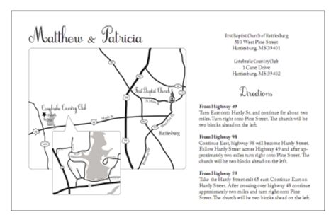 free direction maps for wedding invitations wedding invitations cheap wedding accessories