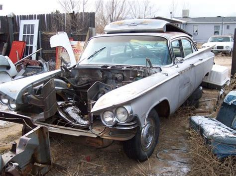 purchase used 1959 buick electra 4 door sedan parts car