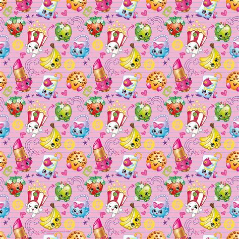 gift paper print shopkins wrapping paper roll shopkins gift wrap