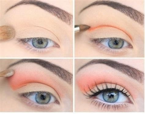 orange makeup tutorial pretty pastel makeup ideas for spring pretty designs