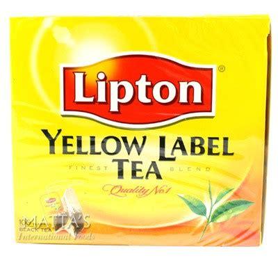 Teh Lipton Yellow Label lipton yellow label tea mattas