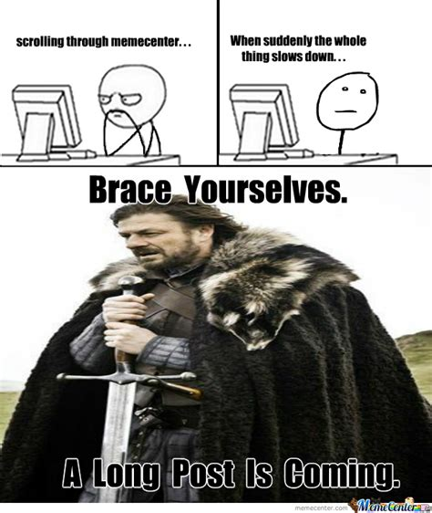 Make A Brace Yourself Meme - brace yourself by jyrolyn meme center
