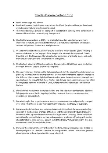 What Darwin Never Knew Worksheet Answers by Charles Darwin Activity By Edp10ch