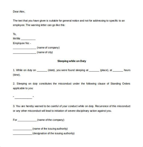 termination letter format for misbehaviour termination letter format misbehaviour 28 images sle