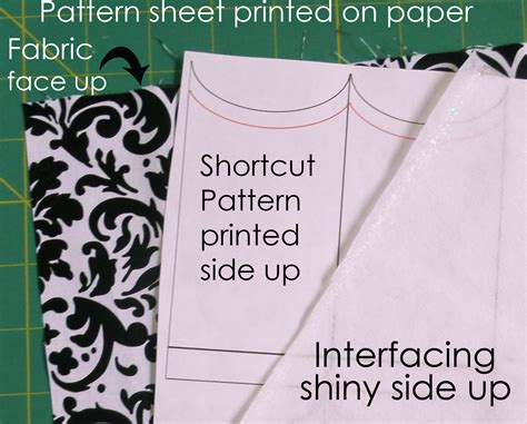 pattern printed side up cozy cakes sew along shortcut to a cupcake wrapper