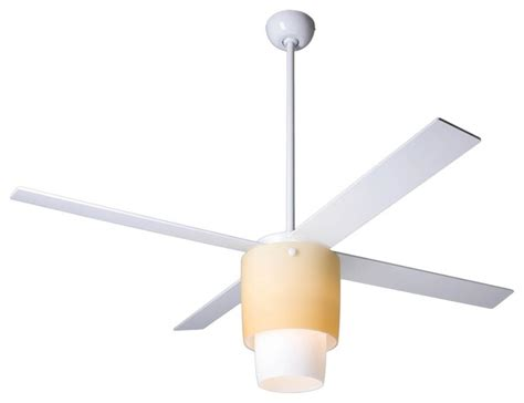 52 quot modern fan halo white light kit ceiling fan