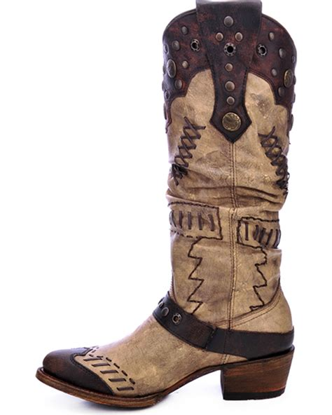 barn boots sale corral s studded slouch western boots boot barn