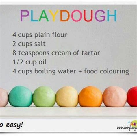 Handmade Playdough - make my own play dough and we re doing flower part id