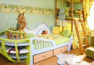 themed toddler beds colorful kids bedroom and playroom design