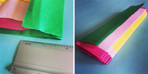 How To Fold A Tissue Paper Flower - how to make a tissue paper flower a dazzling tutorial