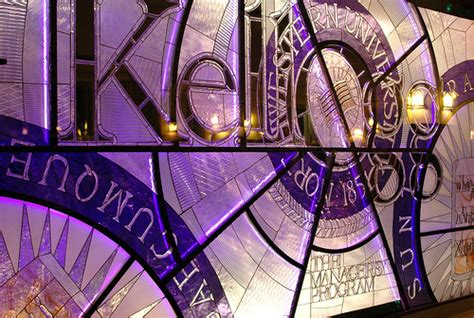 Northwestern Offer Scholarship Mba by Stained Glass Northwestern Flickr Photo