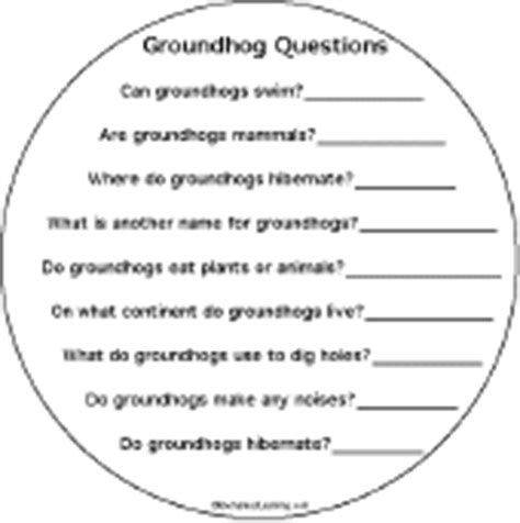 groundhog day trivia groundhog day early fluent reader activity book