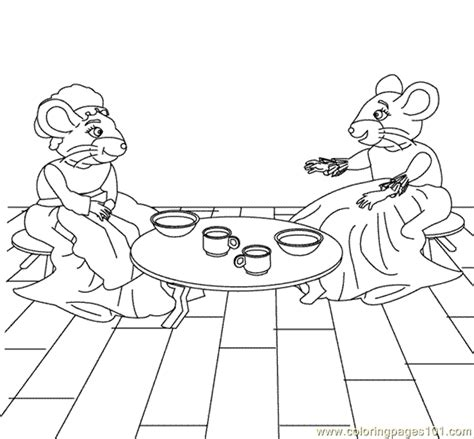 town mouse coloring page country mouse coloring sheets for coloring pages
