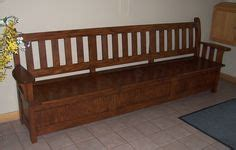 mission style bench with shoe storage mission style bench dining room tables pinterest