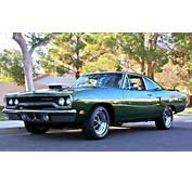 Stunning 1970 Green Plymouth Roadrunner This Beauty Is Called The