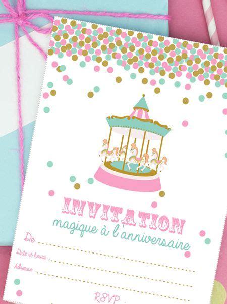 Idée De Cadeau De Noel A Faire Sois Meme 838 by Invitation Anniversaire F 234 Te Foraine 224 Imprimer