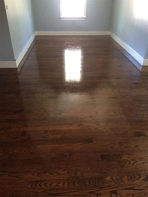 Brown Floor Antique Brown Stain On Oak Floors Central Mass