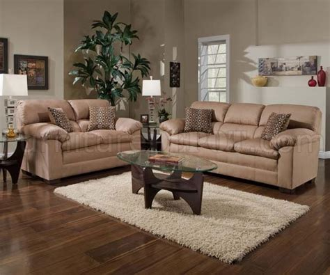 microfiber couch and loveseat sets latte microfiber sofa loveseat set