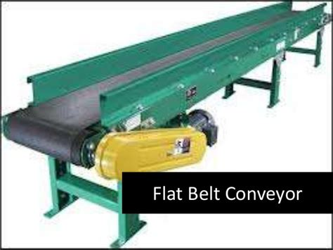 Conveyor Tipe O types of conveyors