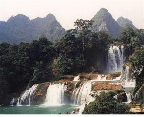 famous waterfalls paradise china famous waterfalls in china