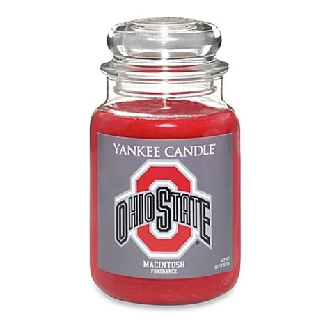 yankee candle fan yankee candle 174 ohio state large jar fan candle