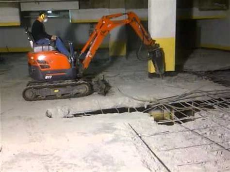 Parking Structural Concrete Suspended Slab Demolition