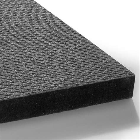 Rubber Mats by 4x6 Ft Black Fitness Rubber Mat 3 4 Inch Thick Floor