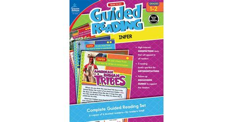ready to go guided reading determine importance grades 3 4 books ready to go guided reading infer grades 1 2 cd