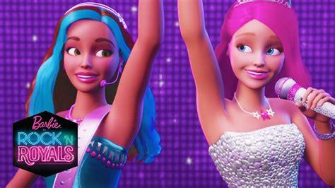film barbie rock et royal barbie in rock n royals official trailer barbie youtube