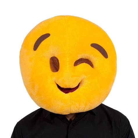 emoji ebay adult plush emoji emoticon mascot full head smiley fancy