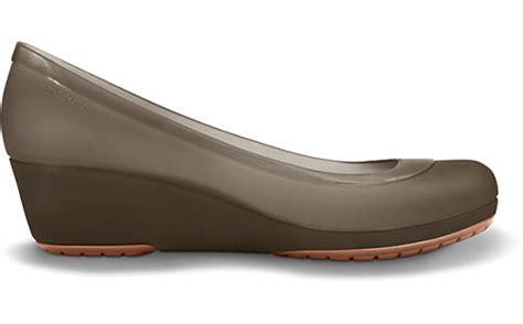 Sepatu Oliviaa Wedges raja crocs