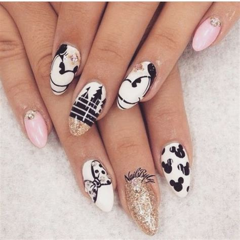 disney pattern nails 1724 best disney nails images on pinterest disney nails