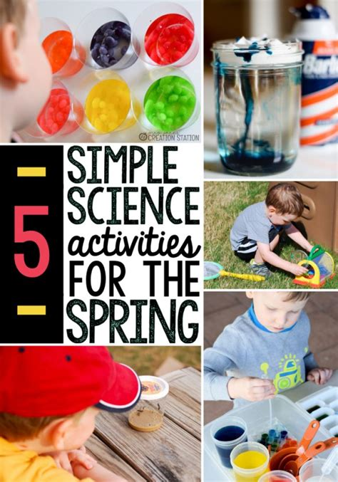 science themes in kindergarten 5 spring science activities the measured mom