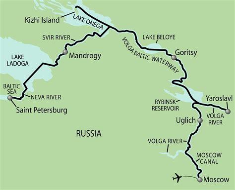 russia map river map of volga river russia