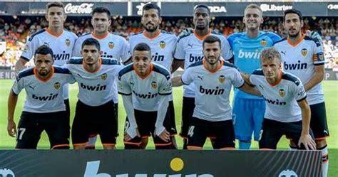 daftar skuad pemain valencia   terbaru