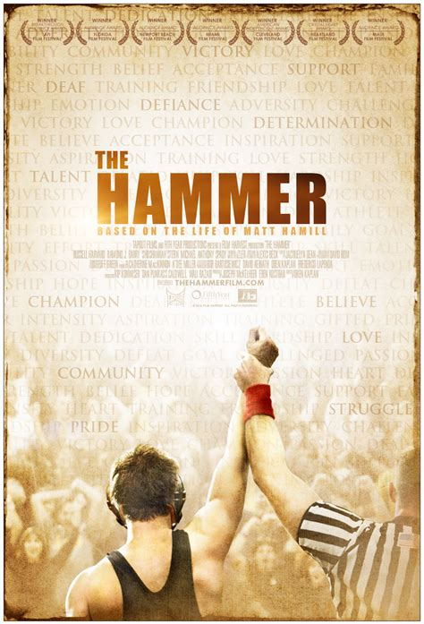 the hammer the hammer feature based on of deaf ufc fighter