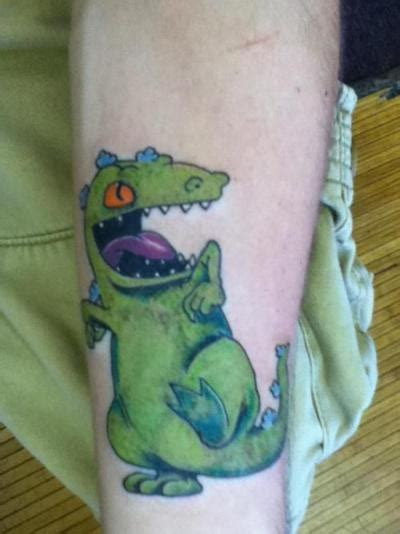 reptar tattoo 77 best i am a rugrat images on