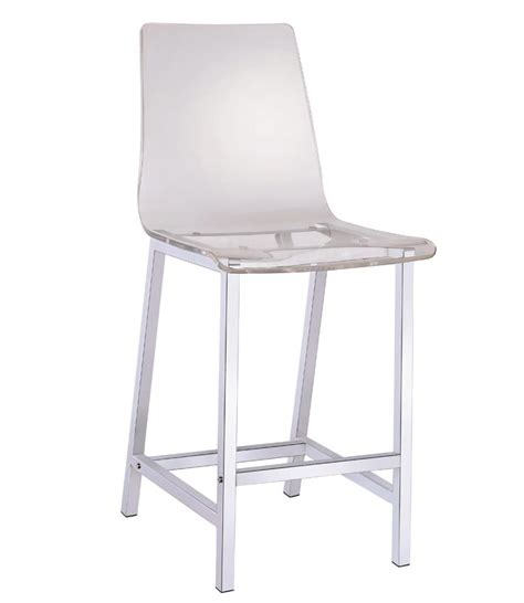 Clear Acrylic Counter Height Stools acrylic clear counter height stool