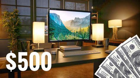 schreibtisch einrichtung the best desk setup for 500