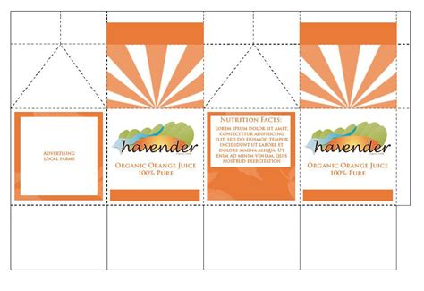 Packaging Template Illustrator by Best Packaging Design Templates Illustrator Images
